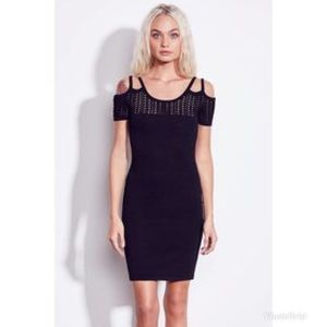 Ali & Jay Palms and Prosecco Black Bodycon Dress